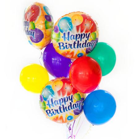 Birthday balloon set monceau flowers - Happy birthday balloon images hd ...